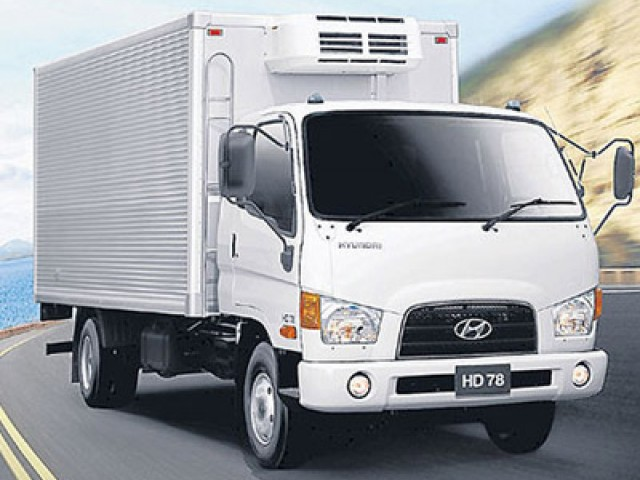 Transporte Carretero - HYUNDAI HD 78 - OKM 097d3f9ec4b