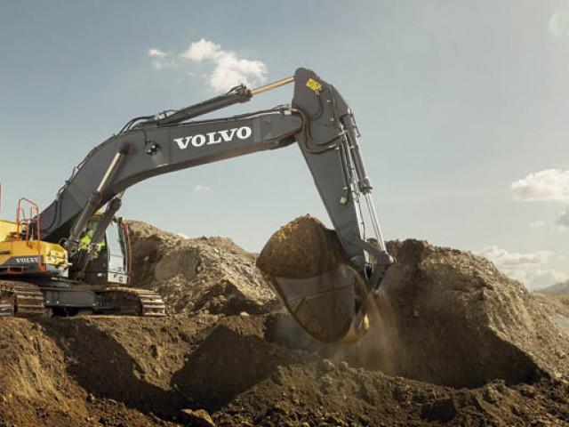 Transporte Carretero - Volvo presenta en Uruguay las excavadoras